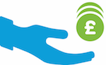 Charity donation icon
