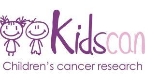 Kidscan Children's cancer research logo