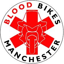 Blood Bikes Manchester Logo
