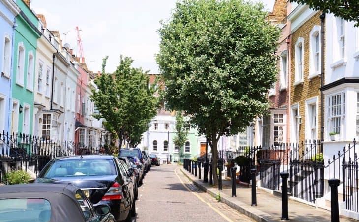 London street trees