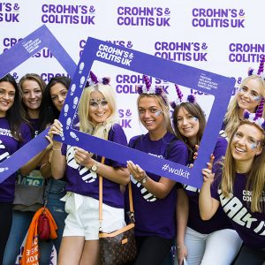 Picture of Crohn's & Colitis walking event